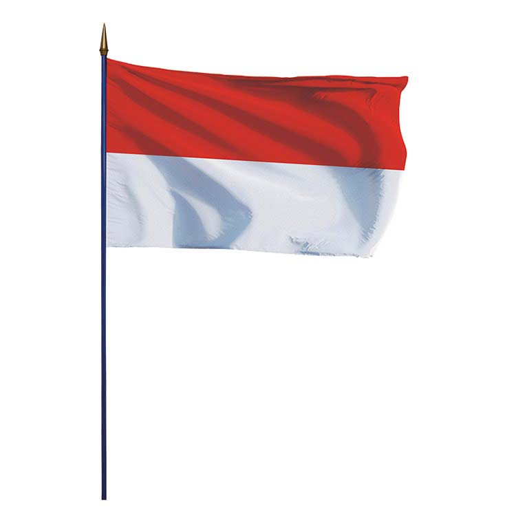 photo drapeau indonesie-