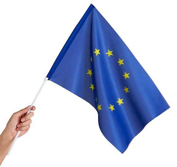 Drapeau européen de supporter