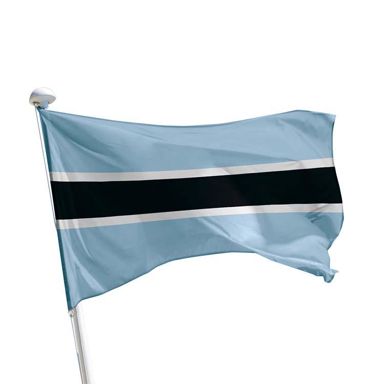 Drapeau Botswana pour mât