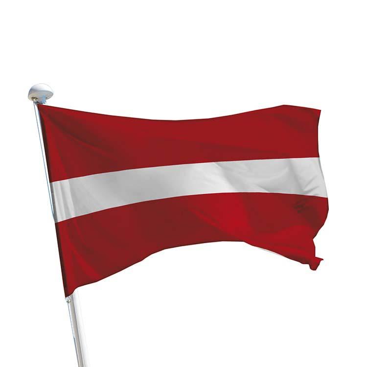 Drapeau Lettonie pour mât