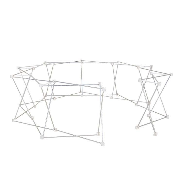 Structure seul de la tente