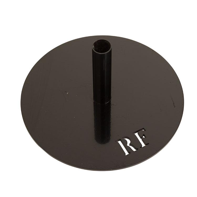 Socle cercle noir RF