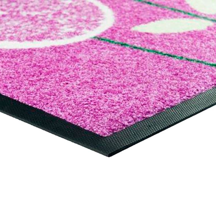 Tapis de sol lavable personnalisé