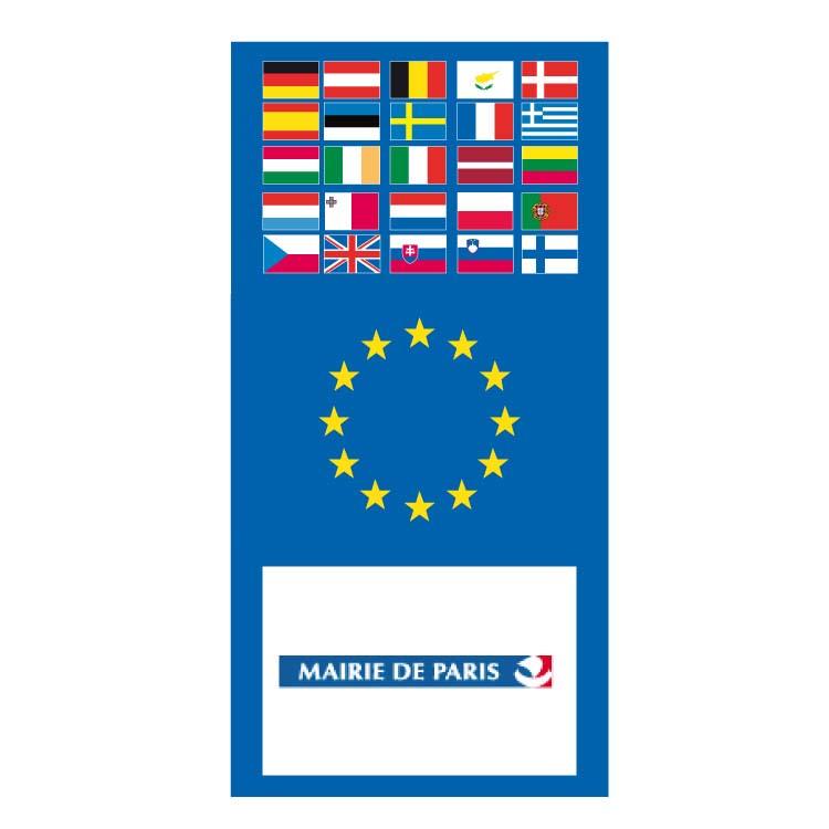 Europavillon au logo de la mairie de Paris