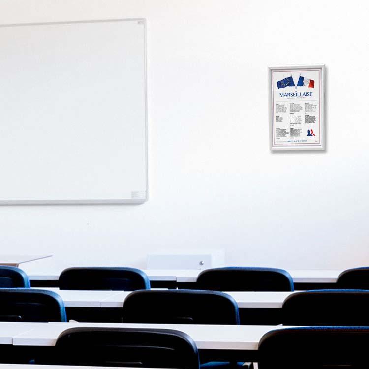 Affiche Loi Blanquer dans salle de classe