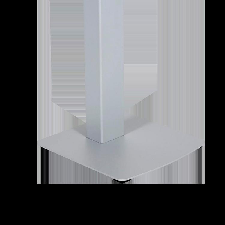 Pieds de borne distributeur de gel automatique rechargeable