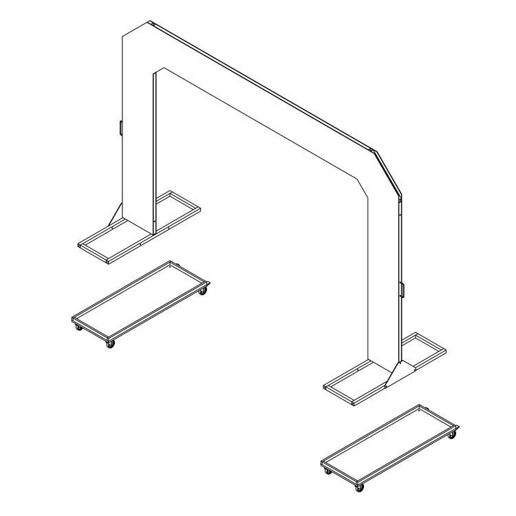 Plan de montage de l'arche entry