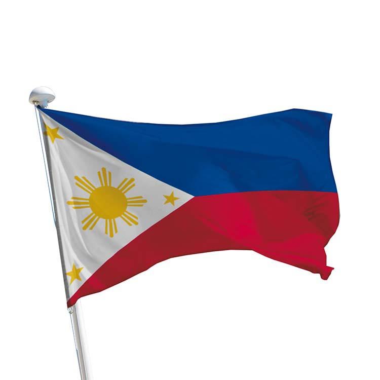 Drapeau Philippines pour mât