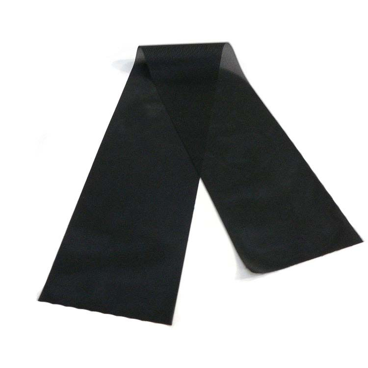 Crêpe tissu noir pour deuil