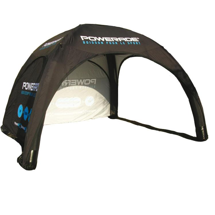 Aufblasbares Zelt 4x4m Set | Aufblasbare Zelte
