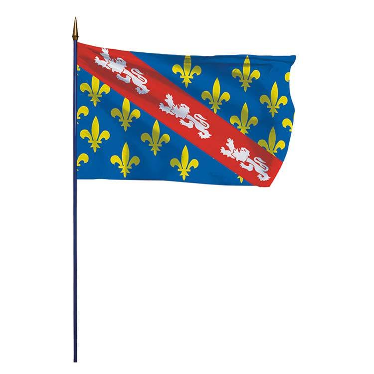 Drapeau de la province de la Marche