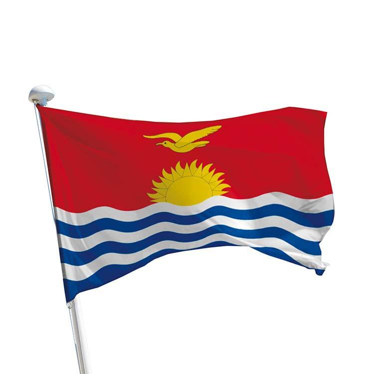 Drapeau Kiribati pour mât