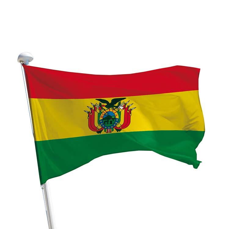 Drapeau Bolivie pour mât