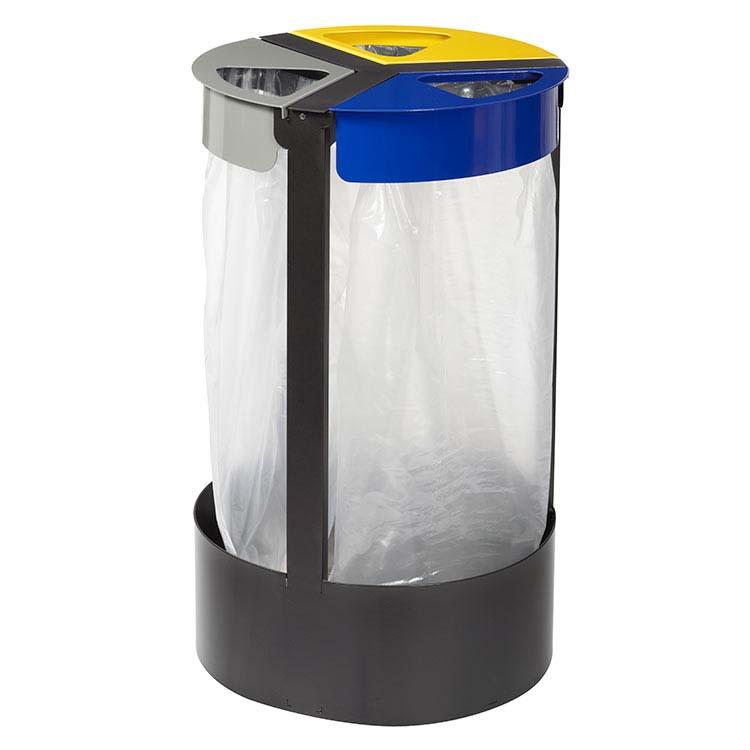 Support sac-poubelle Citwin Premium sur pied 3 blocs