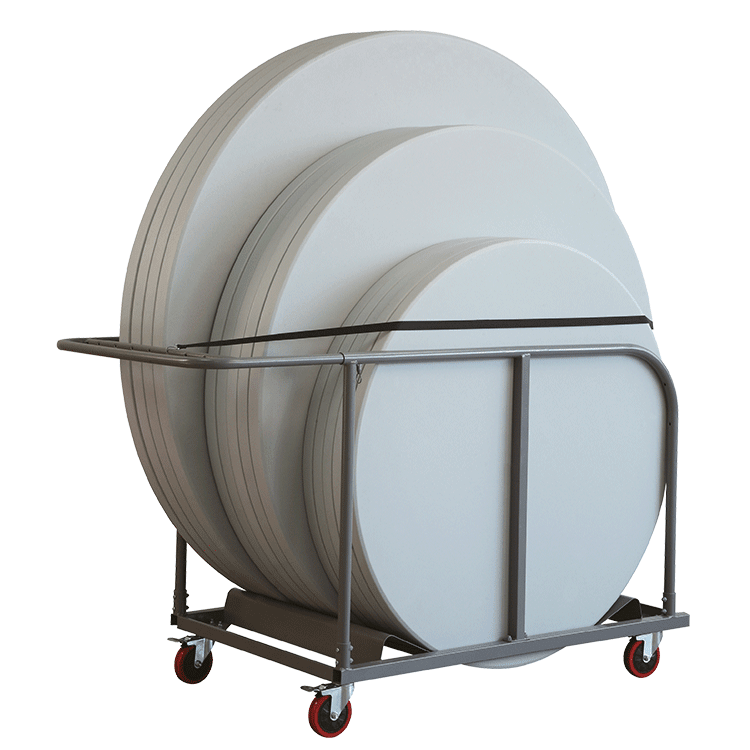 Chariot pour tables rondes Duralight