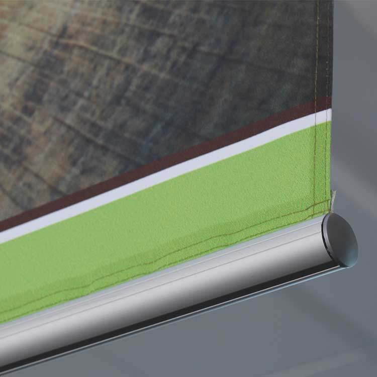 Profilé aluminium avec gouttières