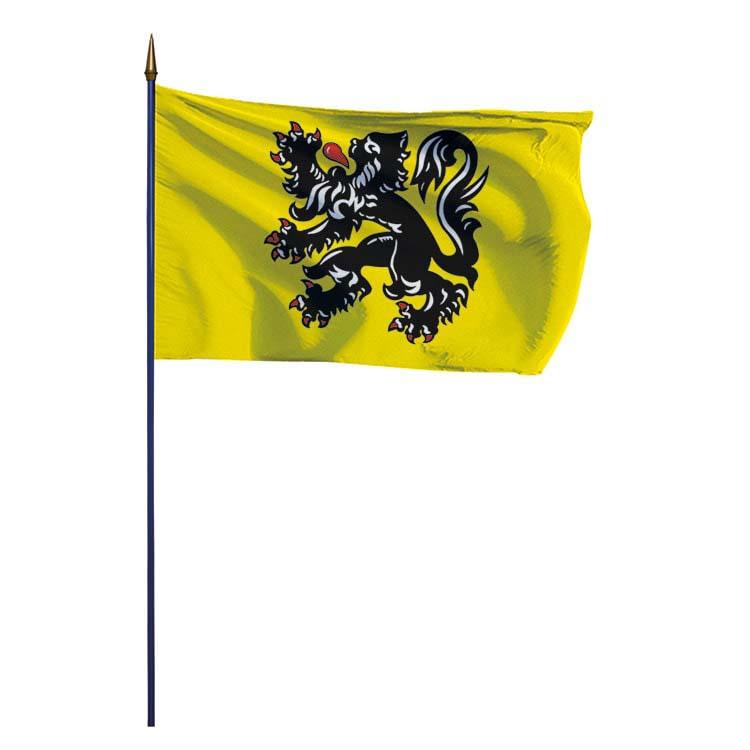 Drapeau provinces flandres belges