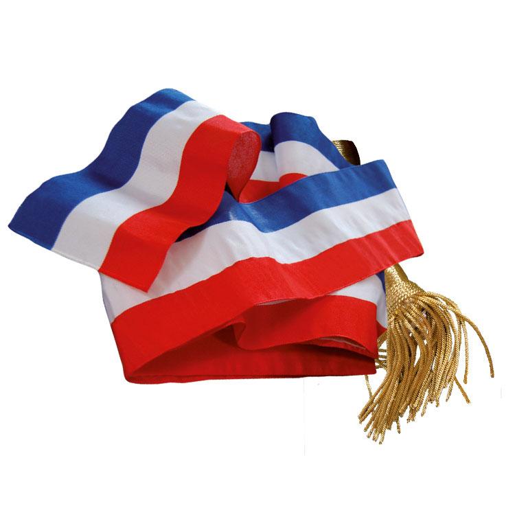 Echarpe de maire tricolore