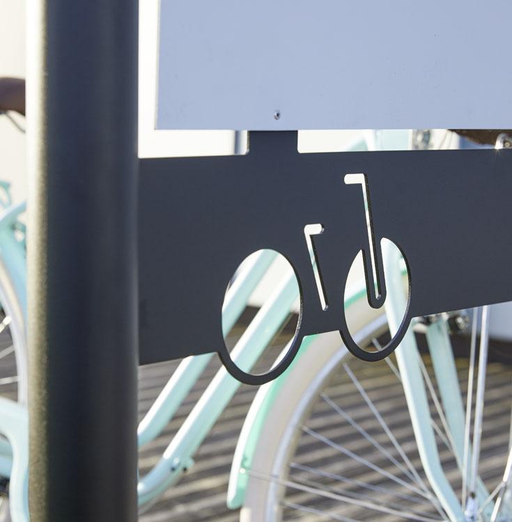 Découpe laser Arceau pour vélos