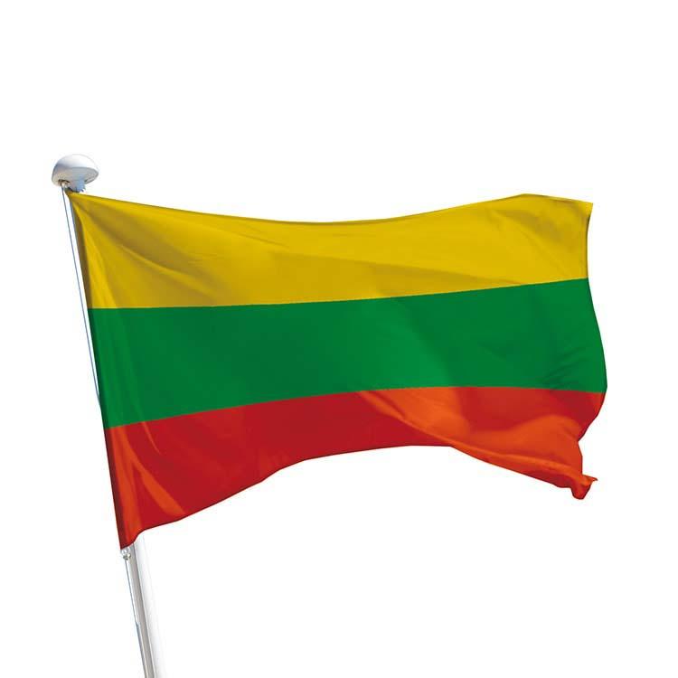Drapeau Lituanie pour mât