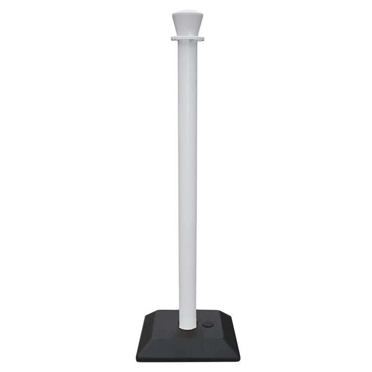 vente poteaux de balisage noir jaune rouge blanc poser au meilleur prix doublet. Black Bedroom Furniture Sets. Home Design Ideas