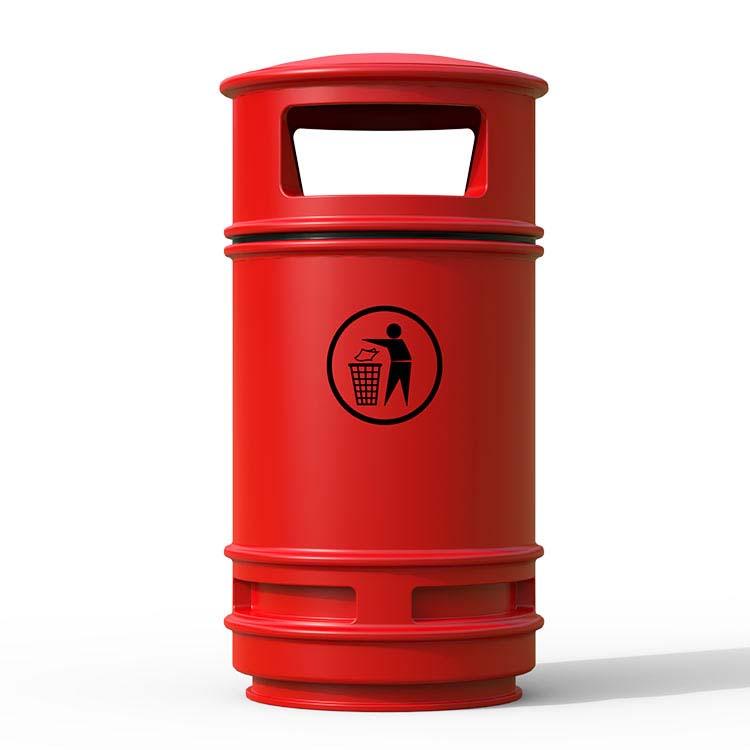 Corbeille Centauro Rouge - 90 litres