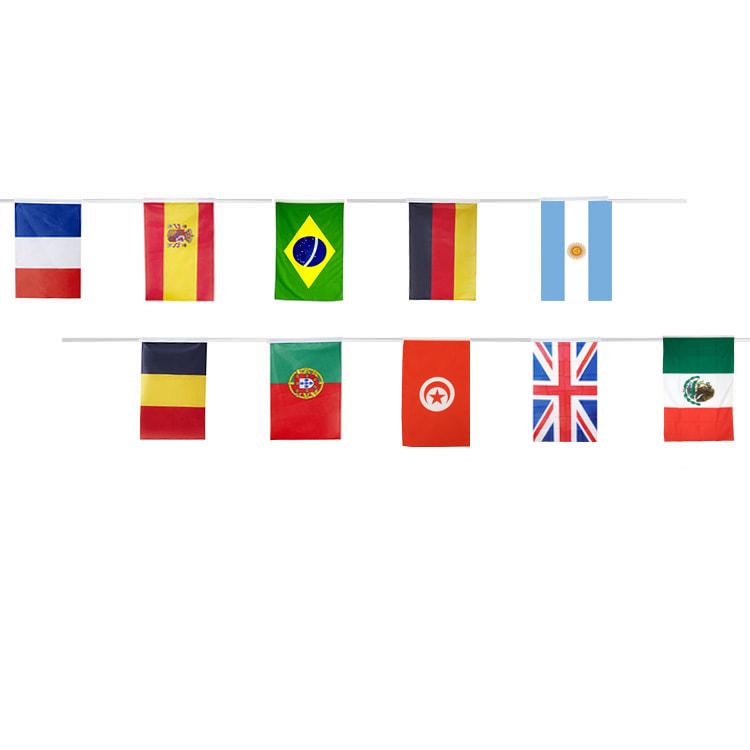 Guirlande pays Coupe du Monde