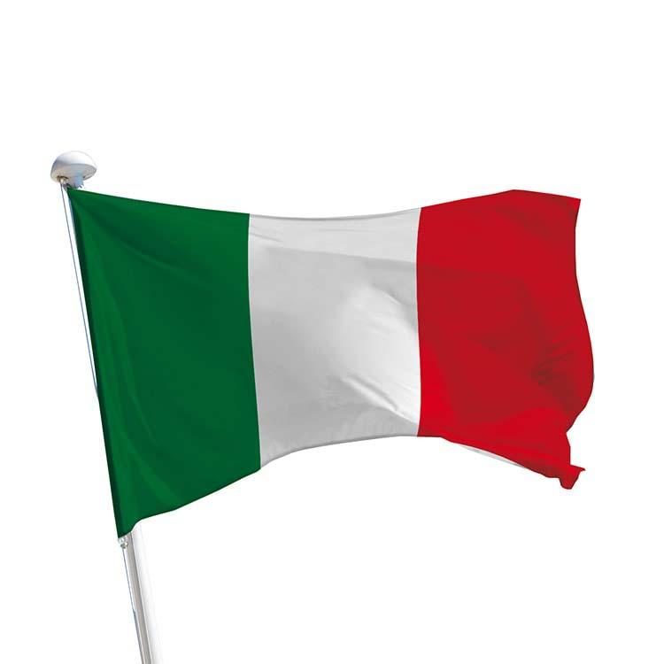 Drapeau Italie pour mât