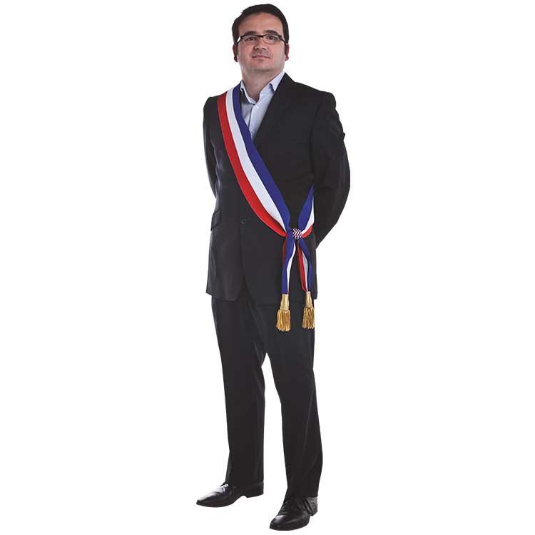 Écharpe tricolore de Maire, adjoint au maire, parlementaire - DOUBLET 719c2b3bf36