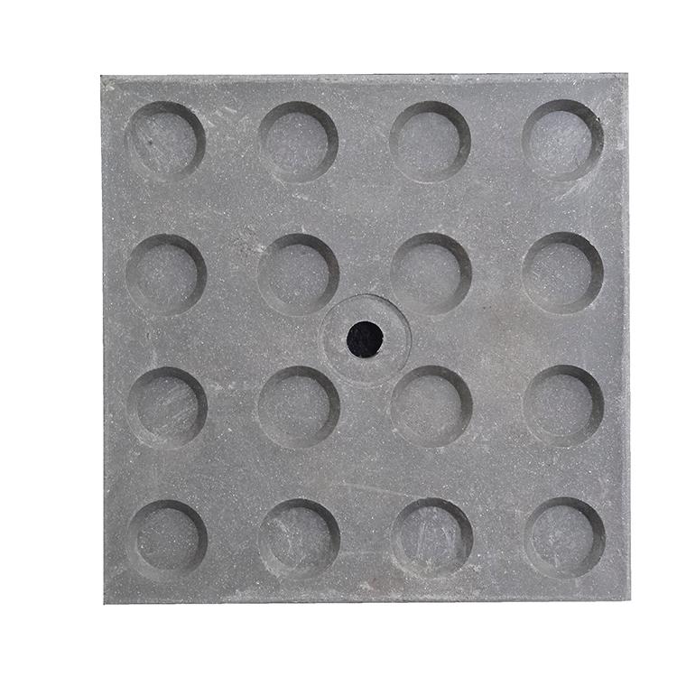 Cale de répartition de charge sol dur grise