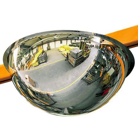 Miroir de sécurité hémisphérique
