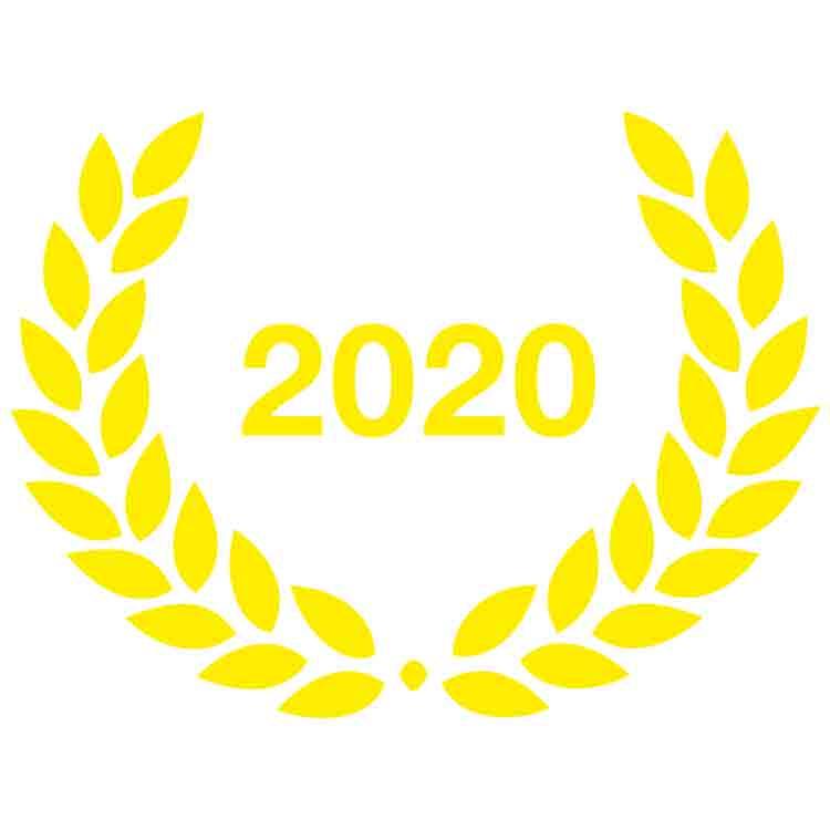 2020 - Laurier adhésif Ville Active et Sportive