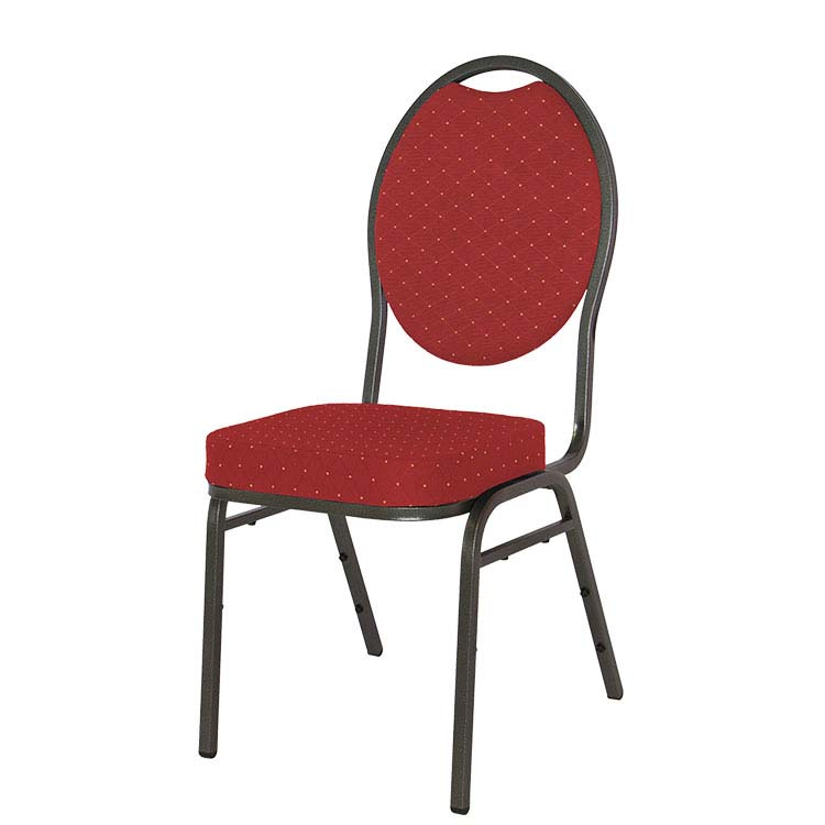 Chaise florie rouge