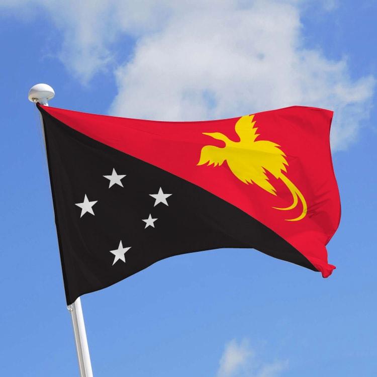 Pavillon Papouasie Nouvelle Guinée