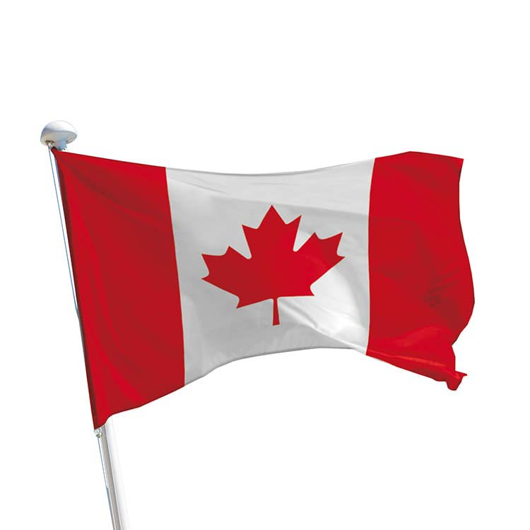 Drapeau Canada pour mât