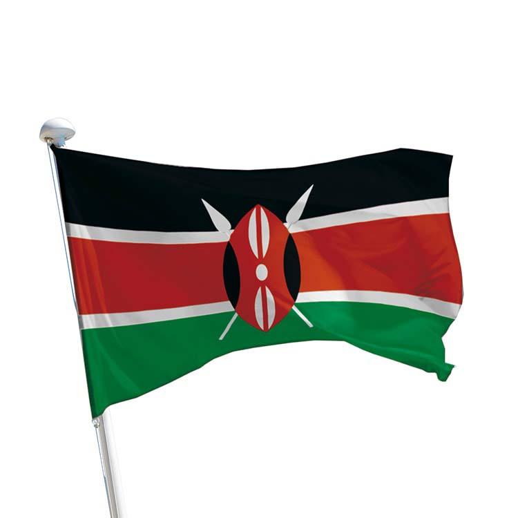Drapeau Kenya pour mât