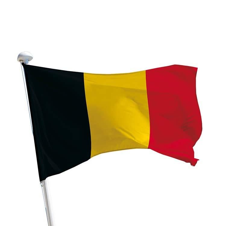 Drapeau Belgique pour mât