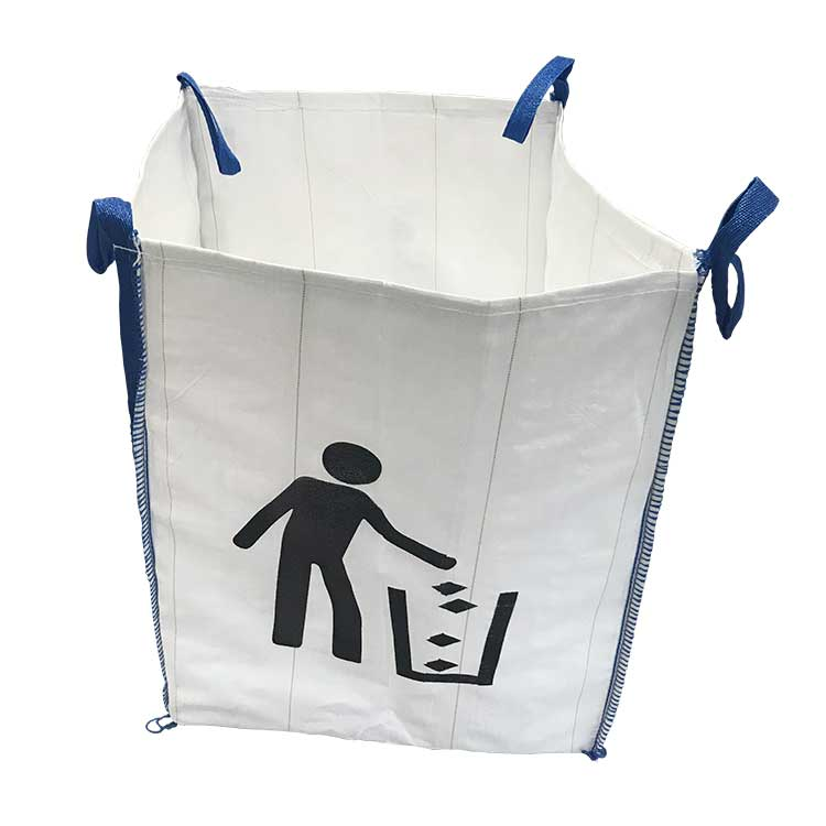 Sac personnalisé pour gravats et déchets
