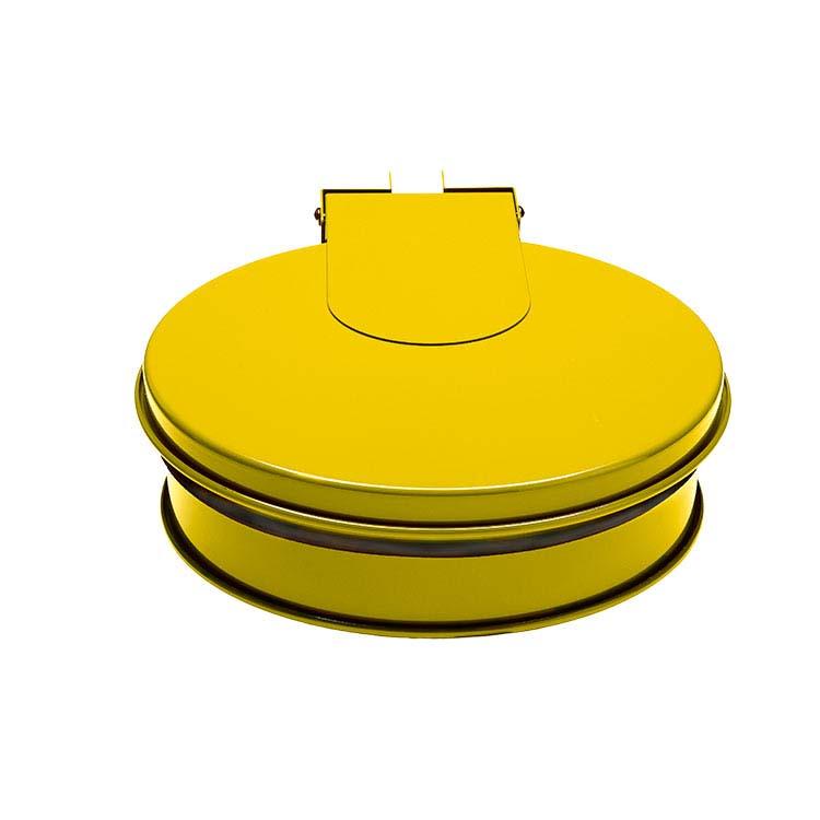 Support sac-poubelle Plain mural - jaune