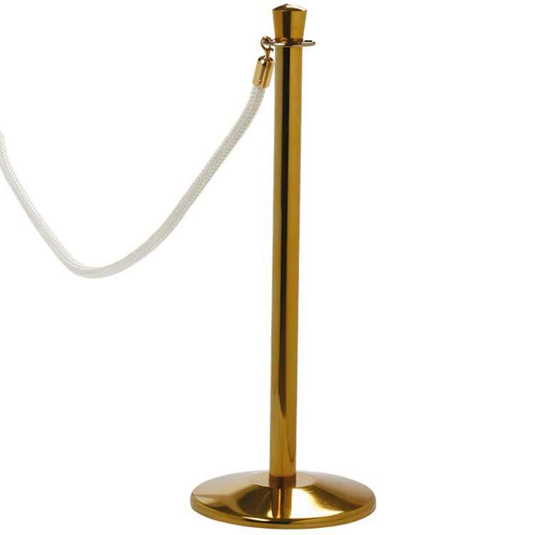 Poteau de guidage classique à corde