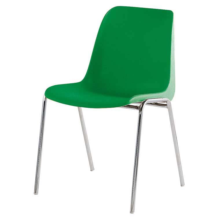Chaise coque M2 assemblable bleu