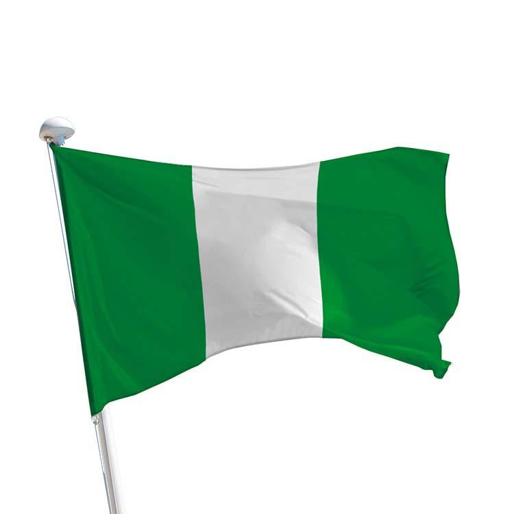 Drapeau Nigéria pour mât