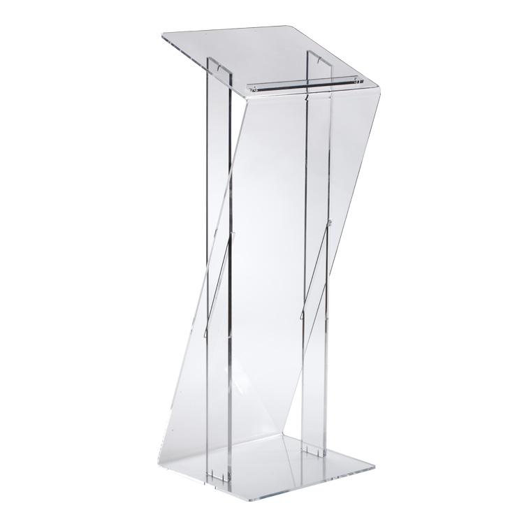 Pupitre Z en Plexiglass