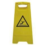 Chevalet signalisation jaune
