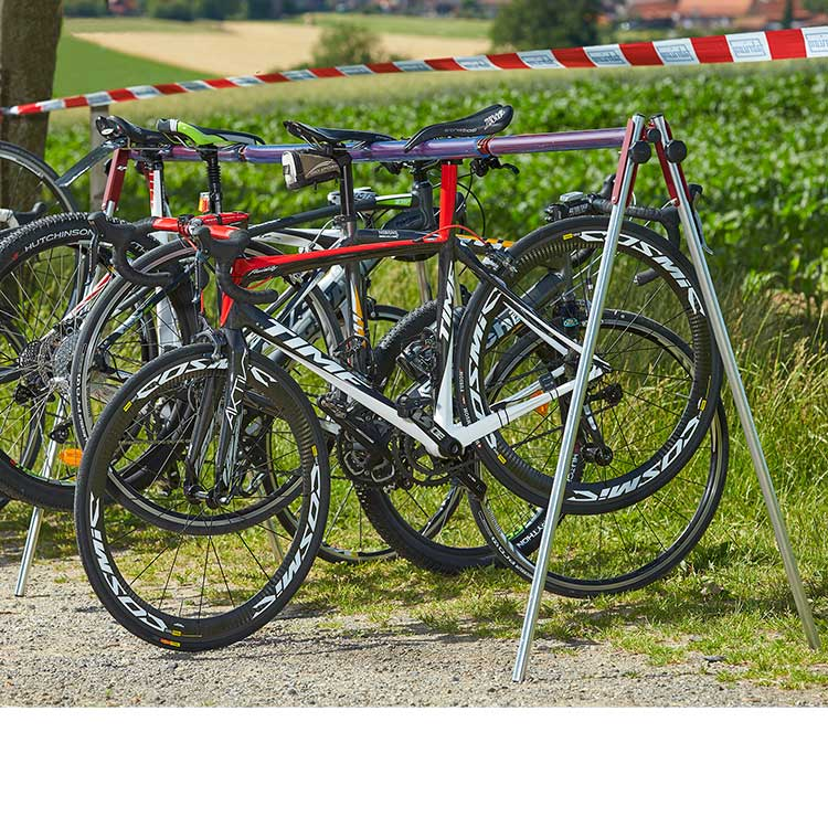 Rack à vélo pliant nomade
