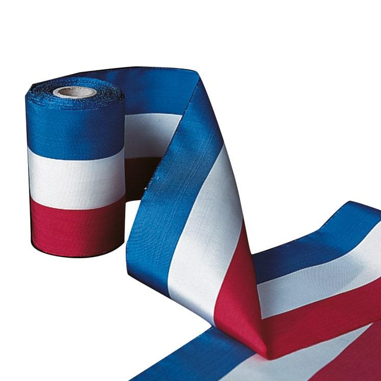 Ruban tricolore français pour cérémonie