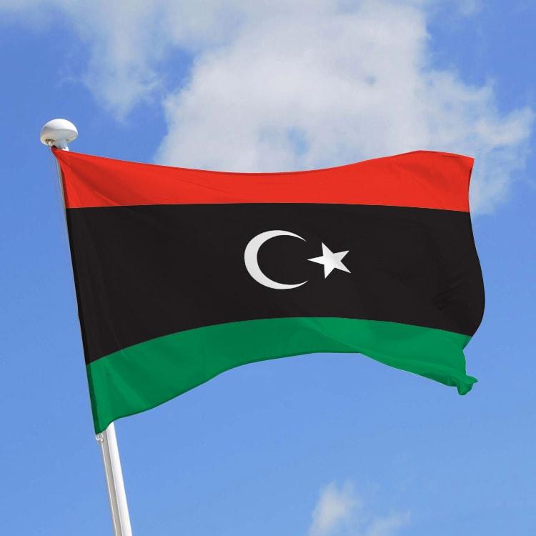 Pavillon Libye