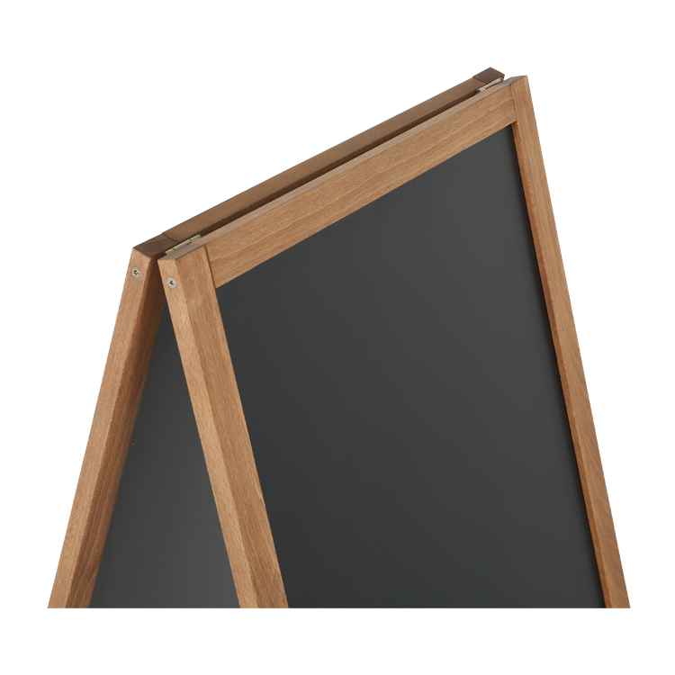 Structure en bois du stop trottoir Dark wood