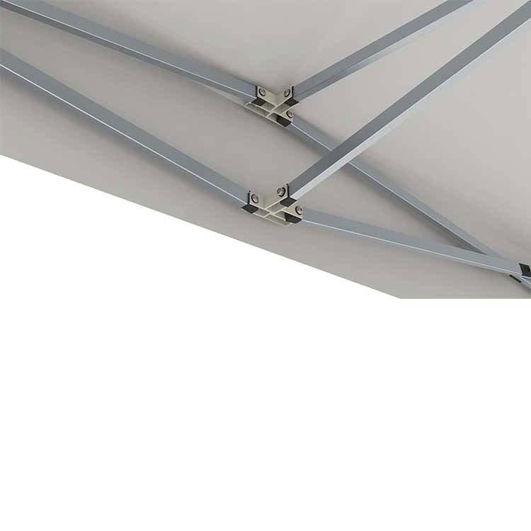 Croisillons aluminium + lambrequin