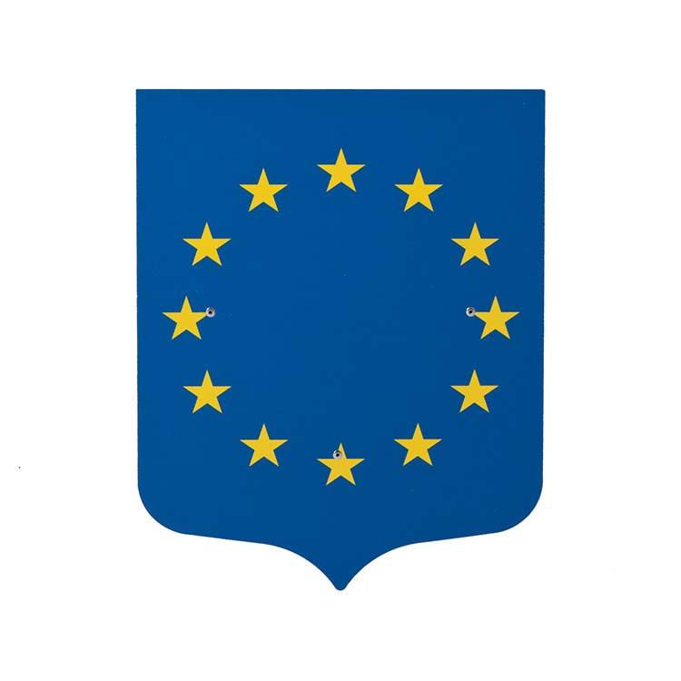 Ecusson porte-drapeaux Europe - Ecusson seul